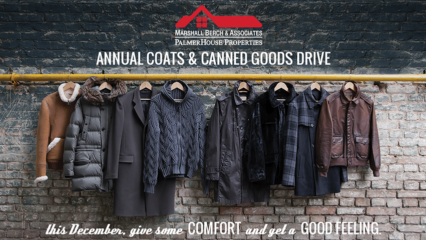 MB&A Annual Holiday Coats & Canned Goods Drive